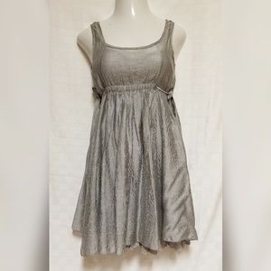 CECICO Grey Dress Lace Layered